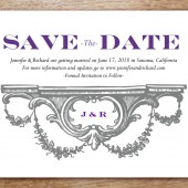 Manor Printable Save The Date