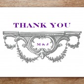 Manor Printable Thank You Card