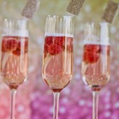 Golf Glittered Drink Stirrers