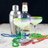 Mardi Gras cocktail rim sugar gift set - dell cove spices and more
