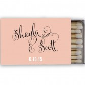 Personalized Wedding Matches – Shayla Collection
