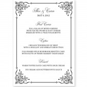 Menu Template - Flourish Frame
