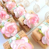 Blush Pink & Mint Table Number Holders