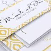 Ikat Wedding Invitation – Miranda