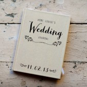 Wedding Planner with Custom Cover
