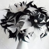 Mod Feather Flowers