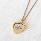 Monogram Classic Crest Necklace