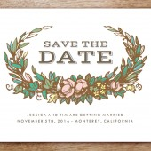 Monterey Printable Save The Date