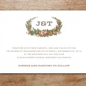 Monterey Printable Wedding Invitation