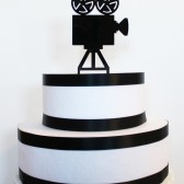 Movie Camera Cake Topper