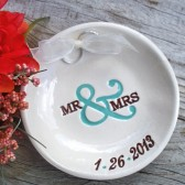 Mr & Mrs Ring Bearer Bowl