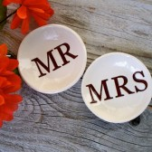 Mr & Mrs Ring Bowl Set