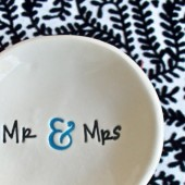 Mr & Mrs Ring Bowl