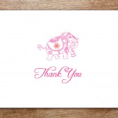 Mumbai Printable Thank You Card