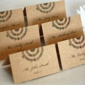 Music Note Escort Cards