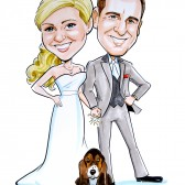 Save the Date - Custom Caricature Portrait