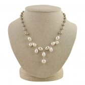 'Natasia' Pearl Statement Necklace