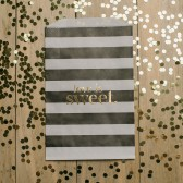Striped Treat Bags, Kate Spade Inspired