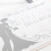 Newlywed Hotel Door Hanger Suite Sign
