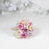 Fairy flowers - Ombre pink flower girl bouquet