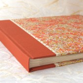 Wedding Album Orange Mum
