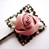 Blush Rose Hair Pin