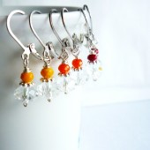 Rainbow Bridesmaid Earrings