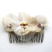 Rustic Bronze Hair Comb