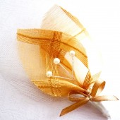 Golden Leaf Boutonieres