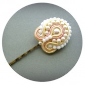 Pastel Soutache Hairpin