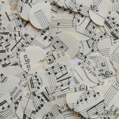 Sheet Music Confetti