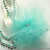 Tulle Hair Flower