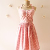 Pretty Pink Bridesmaid Dress