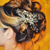Manhattan Bridal Hair Comb