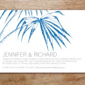 Palma Printable Wedding Invitation
