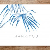 Palma Printable Thank You Card