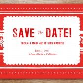 Papelo Printable Save The Date