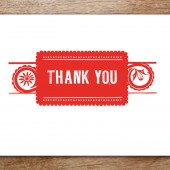 Papelo Printable Thank You Card