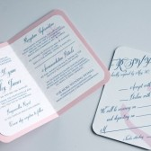 Preppy Nautical Passport Wedding Invitations