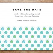 Peacock Printable Save The Date