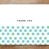 Peacock Printable Thank You Card