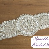 SparkleSM Bridal Sashes - Brooke