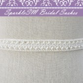 Juliana Pearl Bridal Belt