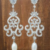Marie Wedding Earrings