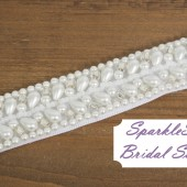 SparkleSM Bridal Sashes - Julianna