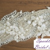 SparkleSM Bridal Sashes - Liv