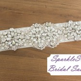 SparkleSM Bridal Sashes - Bridgit