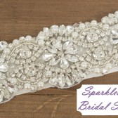 SparkleSM Bridal Sashes - Hilary