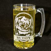 Personalized Pekingese Beer Mug