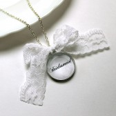 Bridesmaid Lace Necklace